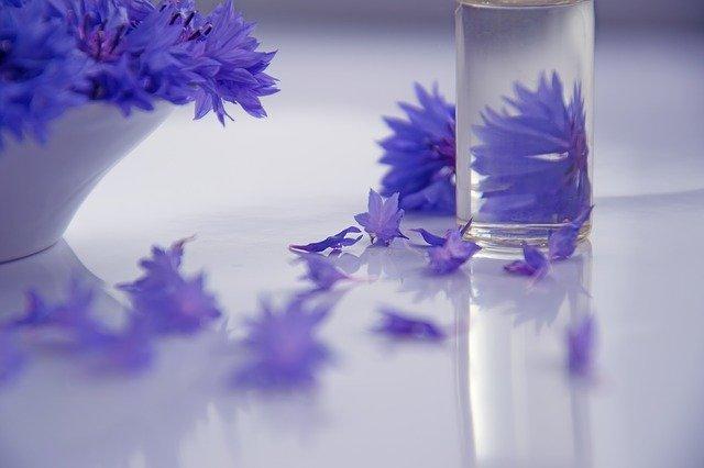 olej z květin