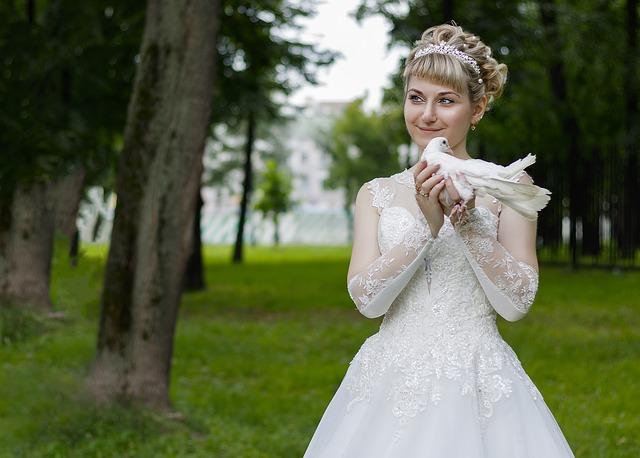 nevěsta s hrdličkou