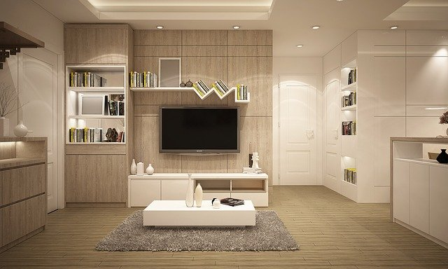 nábytek v pokoji